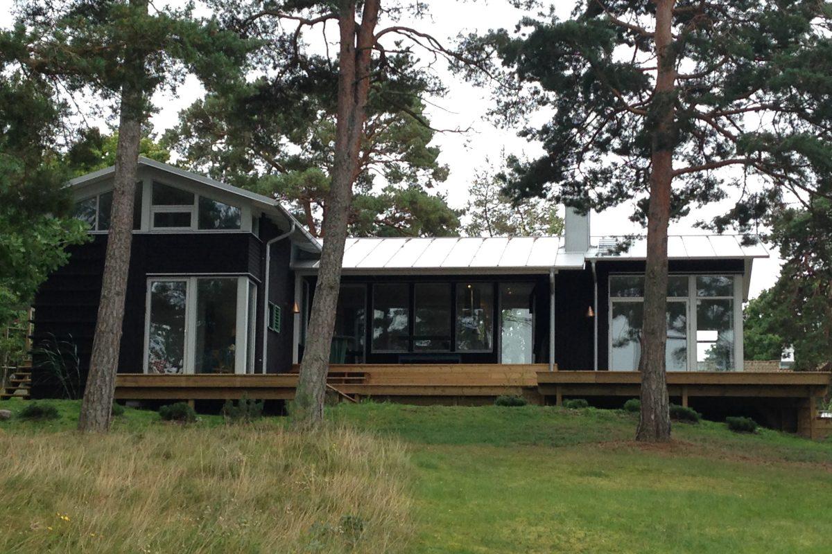 Sommarhus i Drag – Kalmar kommun ombyggnad